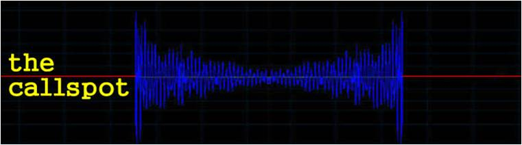 Blue waveform with CALLspot superimposed